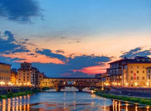 Toscana ponte Vecchio Firenze